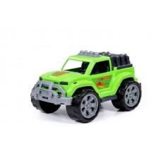 Автомобиль Легион №4 зелёный в сеточке
