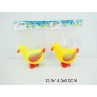 Цыпленок заводной 2 цвета 6820 пакет 12*14см /400шт.//200шт./