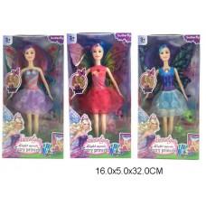 Кукла 3 вида 822A  в коробке 16*5*32см