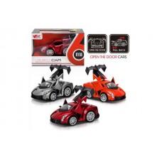 Машина 1:32, металическая, инерционная, 3 цвета, MY66-Q1133, в коробке, 15*9*9.5 см