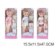 Кукла 3 вида, 88113, с аксессуарами, в коробке, 40 см