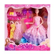Кукла с платьями и аксессуарами, 9618-1, в коробке, 32*5*32,5 см