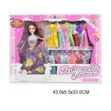 Кукла с платьями,  JH448C, в коробке, 29 см
