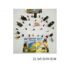 Набор армии YD216 пакет 22*6*16см /240шт.//120шт./ [885283]