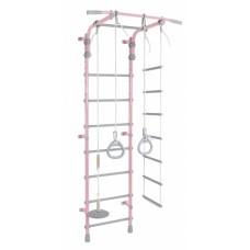 Детский спортивный комплекс Pastel 2 розовый-серый
