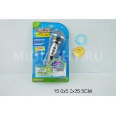 Микрофон на батарейках 1319A на листе